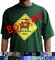 Tee-Shirt Land Rover Only - Taille XXL